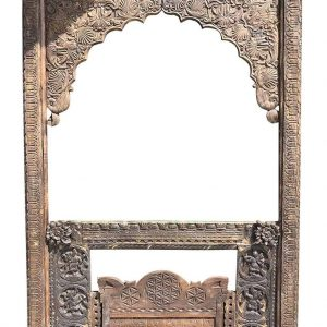 Farmhouse rustic antique mirror frame