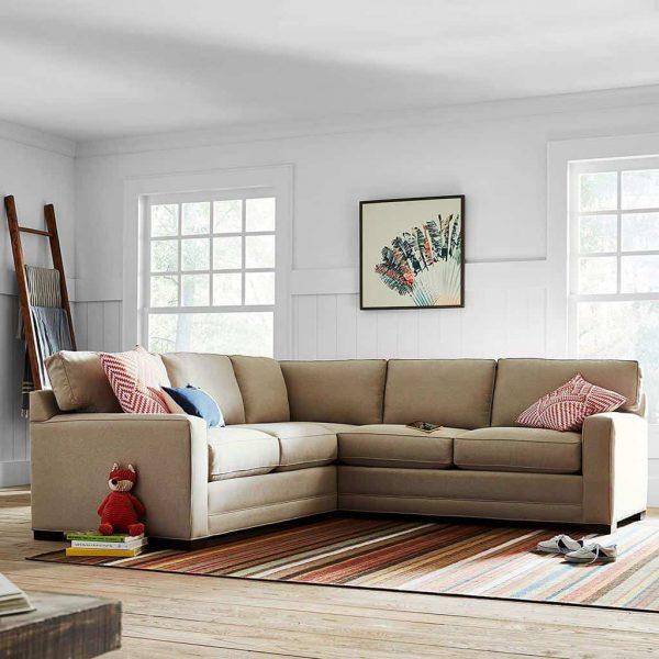Stone & Beam Dalton Performance Fabric Sectional Sofa