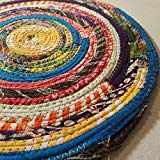 Boho Hippie Unique Colorful Round Rug
