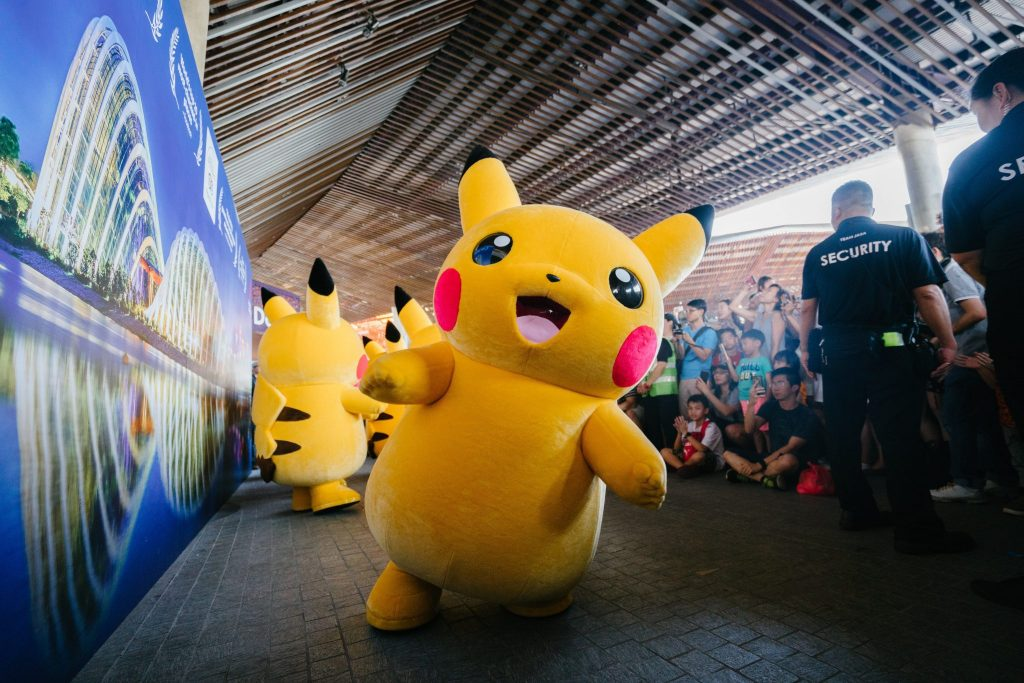 kawaii characters pikachu