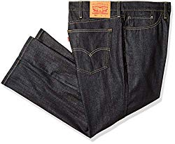 Hipster Fashion for Curves - Product Image - Big and Tall Mens Distressed Jean