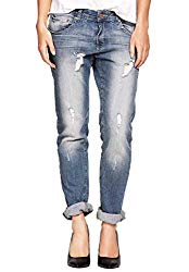 Hipster Fashion for Curves - Product Image - Plus Size Distressed Boyfriend Jean