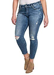 Hipster Fashion for Curves - Product Image - Skinny Plus Size Womens Jeans