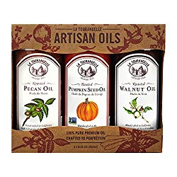 La Tourangelle Nut Oils Trio Pecan Pumpkin and Walnut