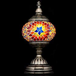 Turkish Mosaic Lamp - Boho Style Home Decor